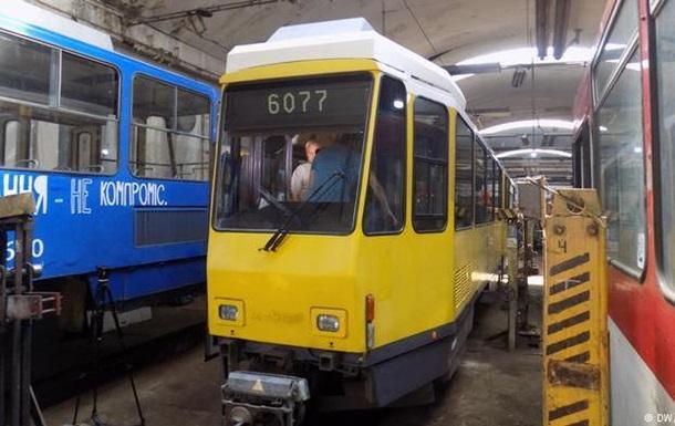 Трамваи из Берлина оказались несовместимы с остановками во Львове