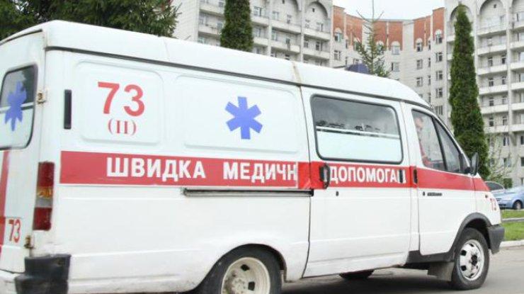 Взрыв во Львове: девушку увезла скорая [ Редактировать ]