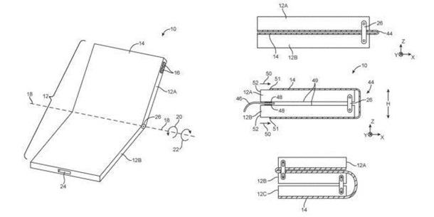 Apple запатентовала гибкий iPhone
