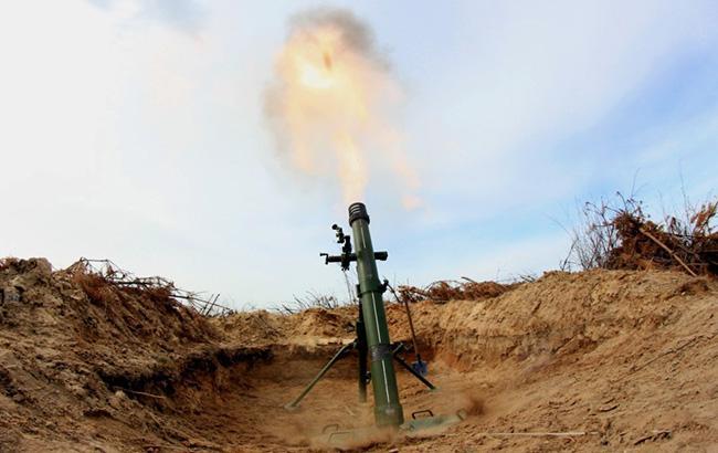 Боевики обстреляли из миномета позиции украинских военных у Талаковки