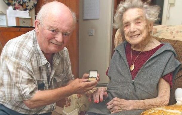 Британка вышла замуж в 100 лет