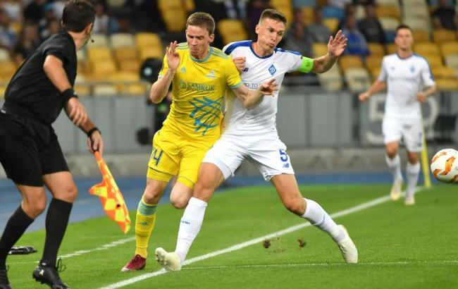 Динамо упустило победу над Астаной в матче Лиги Европы