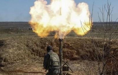 Днем сепаратисты стреляли на Донбассе с запрещенных минометов
