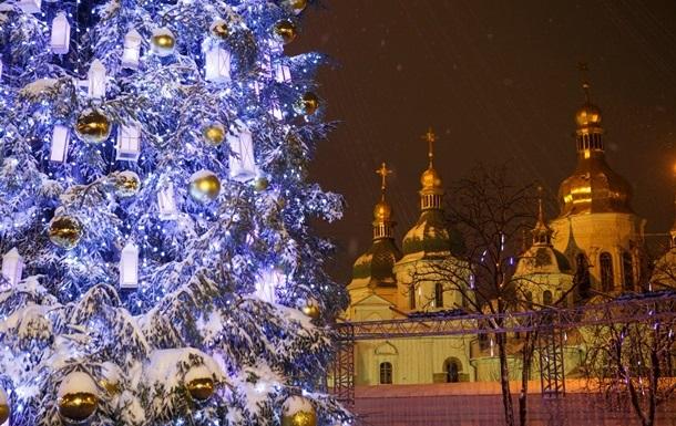 Главная елка Украины в этом году станет ниже
