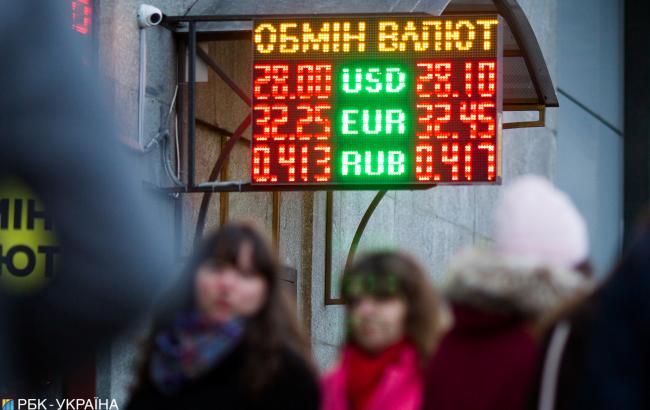 Готівковий курс долара виріс ще на 10 копійок