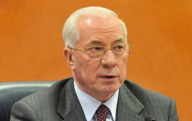 ГПУ повідомила про підозру екс-премєру Азарову за незаконне призначення Клюєва віце-премєром