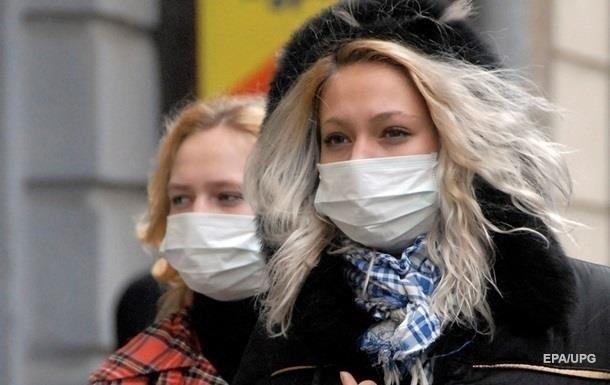 Гриппом за неделю заболели 153 тысячи украинцев