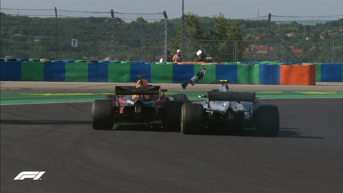 Хэмилтон выиграл Гран-при Венгрии, Боттас едва не выбил Феттеля