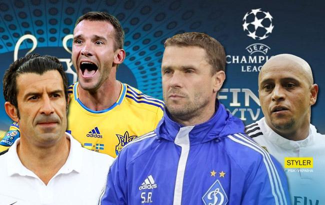 К финалу Лиги чемпионов УЕФА пройдет матч между звездами Реала, Ливерпуля и Друзьями Андрея Шевченко