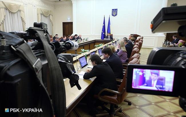 Кабмин одобрил план выполнения указа о санкциях против России