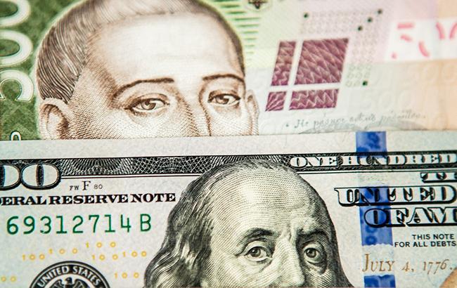 Курс долара на міжбанку знизився до 28,34 грн/долар