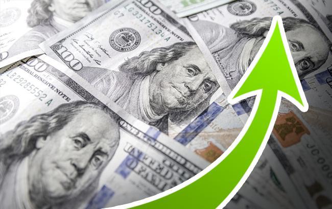 Курс доллара на межбанке 13 июля повысился до 26,25 гривен/доллар