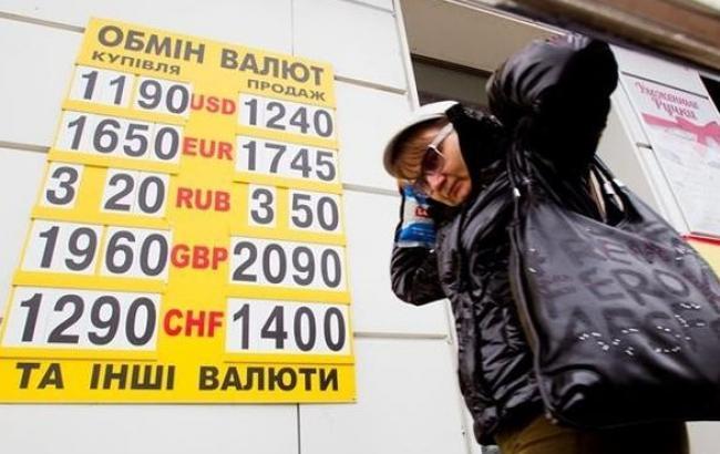 Курс доллара в обменниках в продаже снизился до 26,22 грн/долл