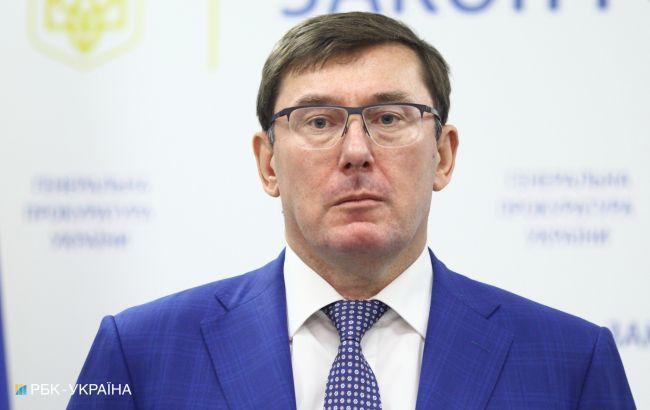 Луценко отказался от участия в избирательном штабе Порошенко