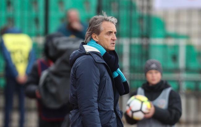 Манчини назначен главным тренером сборной Италии