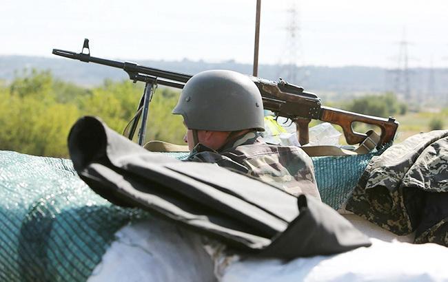 На Донбассе за день погиб один украинский военный, - штаб