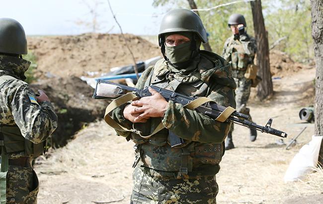 На Донбассе за сутки никто из украинских военных не пострадал