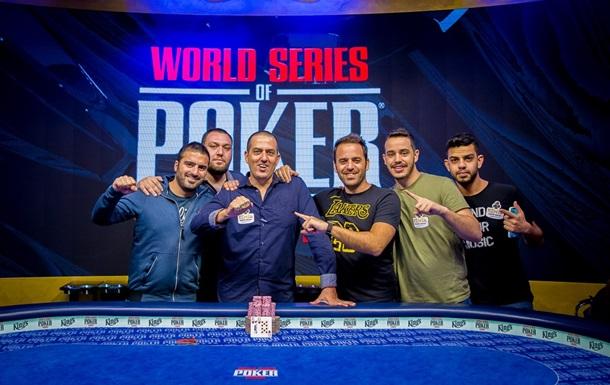 Первый чемпионский браслет серии WSOPE отправился в ИзраильСпецпроект