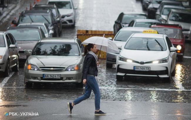 Погода на сегодня: на всей территории Украины дожди, температура до +17