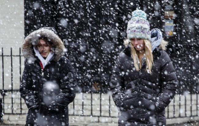 Погода на сегодня: в Украине дожди, местами снег, температура до +14