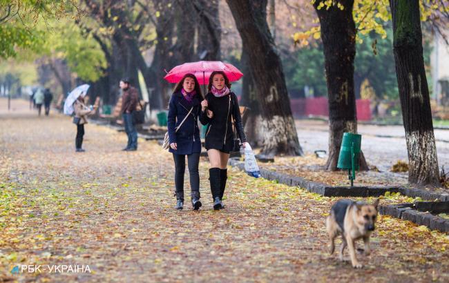 Погода на сегодня: в Украине ожидаются дожди, температура до +20