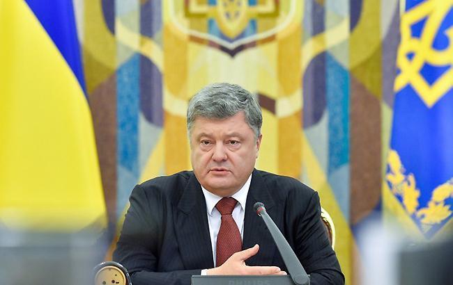 Порошенко внес в Раду закон о допуске подразделений иностранных военных в Украину для учений в 2018
