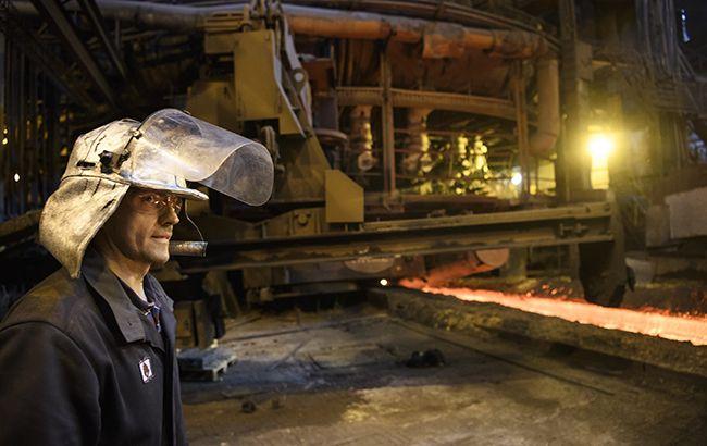 Производство стали в Украине в июне упало на 13%