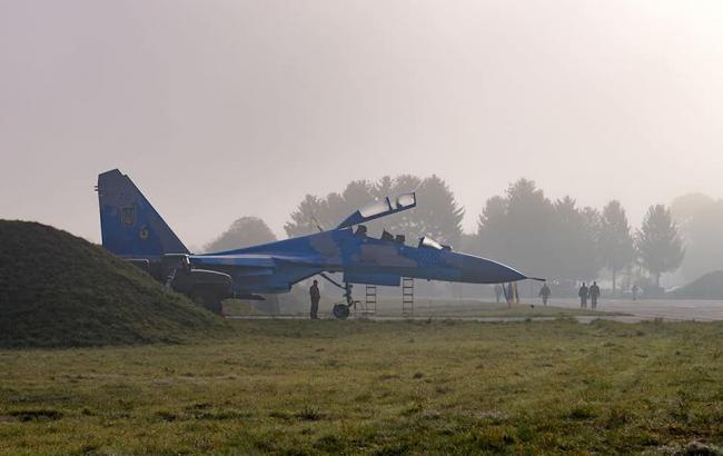 Прокуратура начала расследование падения истребителя Су-27