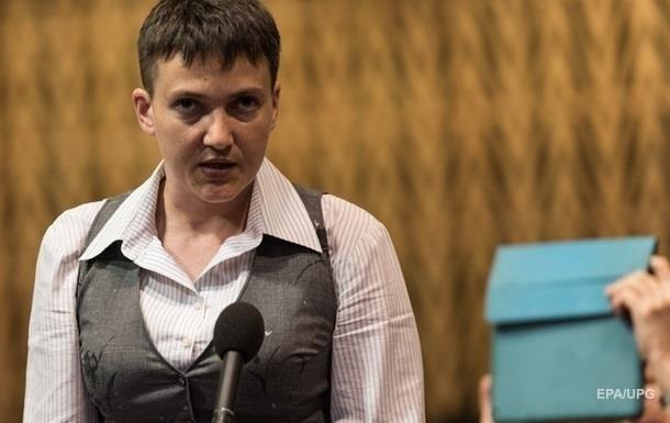 Савченко потребовала публичности проверки на полиграфе