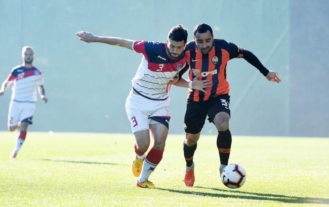 Шахтар обіграв Арсенал-Київ в контрольному матчі