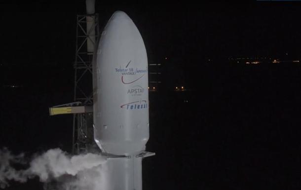 SpaceX запустила Falcon 9 со спутником на борту