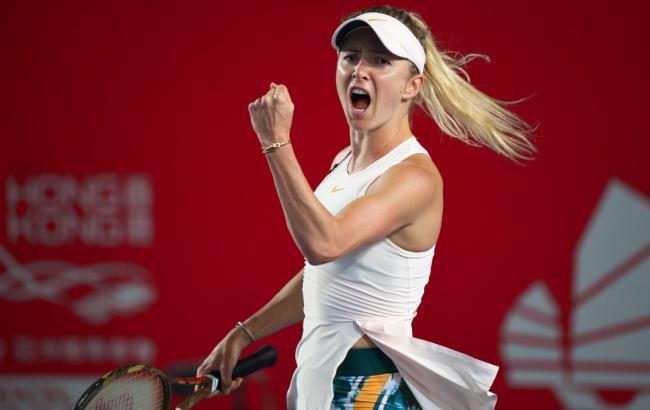 Світоліна пробилася у чвертьфінал турніру в Гонконзі