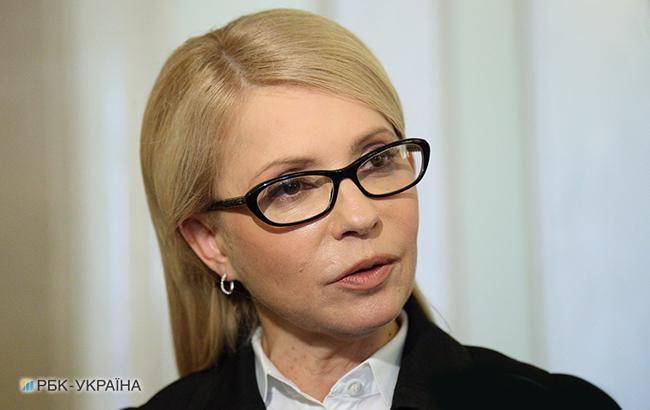 Тимошенко будет инициировать отставку Кабмина в случае повышения цены на газ