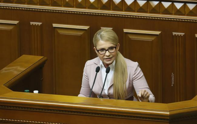 Тимошенко: мир на условиях Путина неприемлем