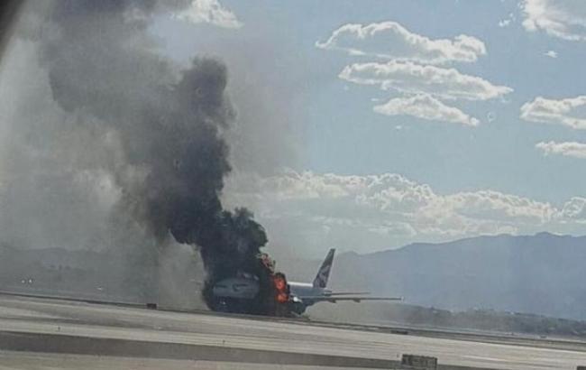В аеропорту Лас-Вегаса загорівся пасажирський літак, є постраждалі