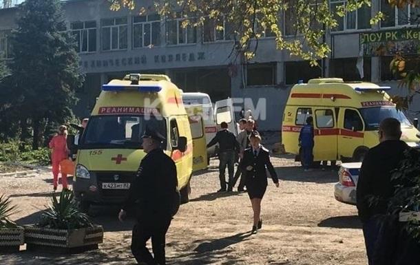 В больницах Керчи находятся 39 пострадавших в колледже