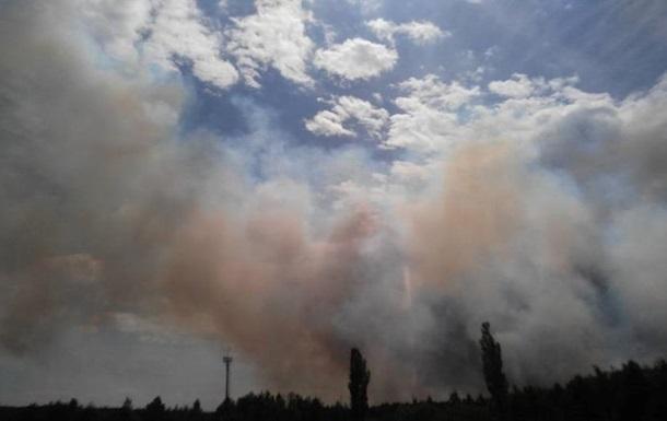В части Украины сохраняется чрезвычайная пожарная опасность