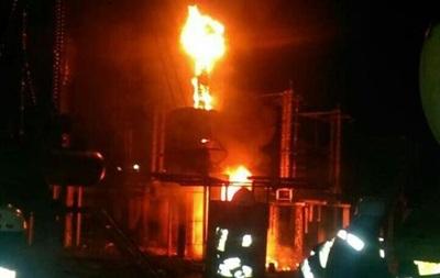 В Днепре горела Приднепровская ТЭС