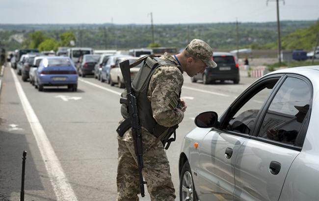 В Донецкой области нацгвардейцы задержали четырех подозреваемых в сотрудничестве с ДНР