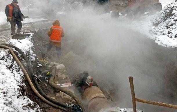 В Харькове без тепла более 80 зданий