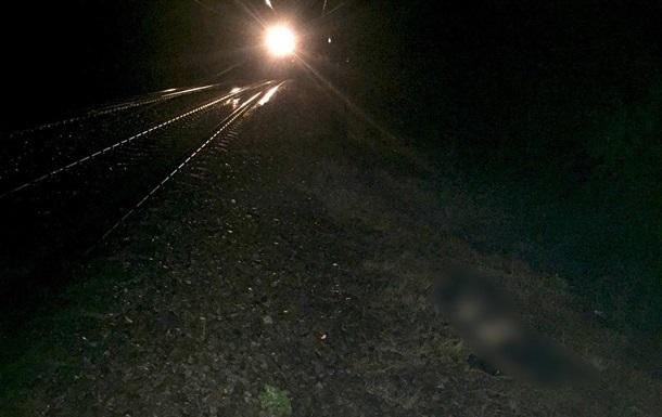 В Харьковской области поезд раздавил женщину