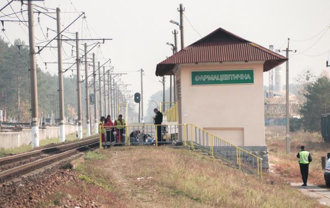 В Киеве поезд Интерсити сбил насмерть мужчину