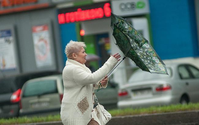 В Киеве сегодня ожидается сильный ветер
