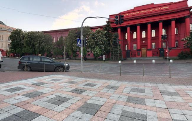 В Киеве сегодня перекроют движение по улице Владимирской