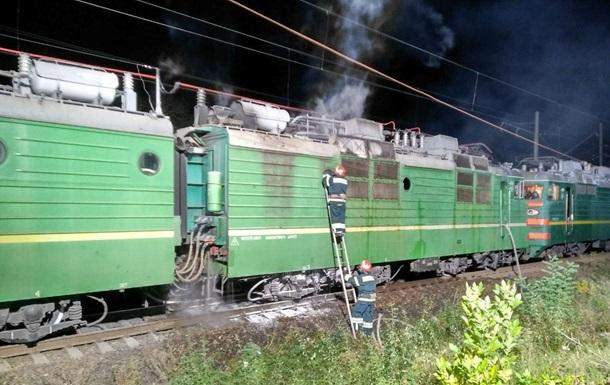 В Кировоградской области горел поезд