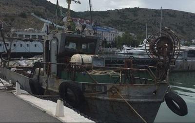 В Крыму отпустили одного из украинских рыбаков
