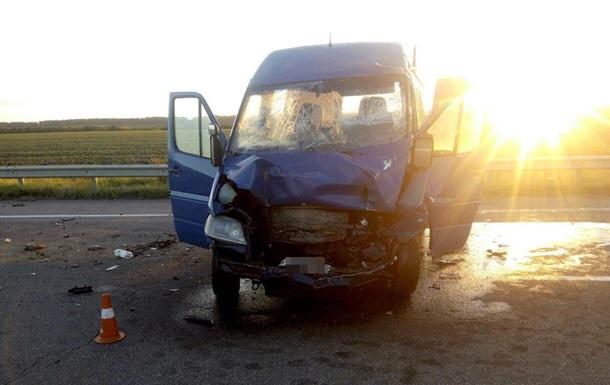 В Николаевской области в ДТП пострадали шесть граждан Беларуси