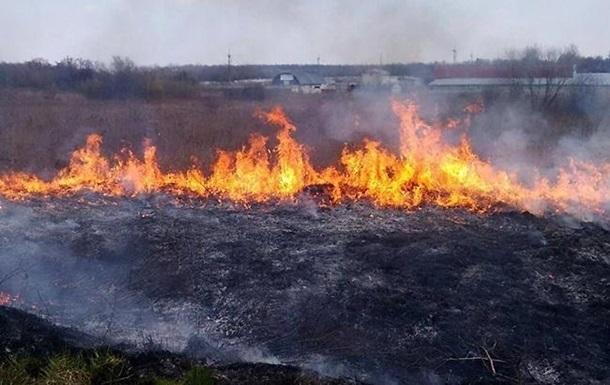 В Украине сохранится чрезвычайная пожарная опасность