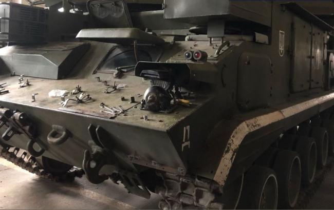 В Житомирской области задержали военного, который украл детали зенитно-ракетного комплекса