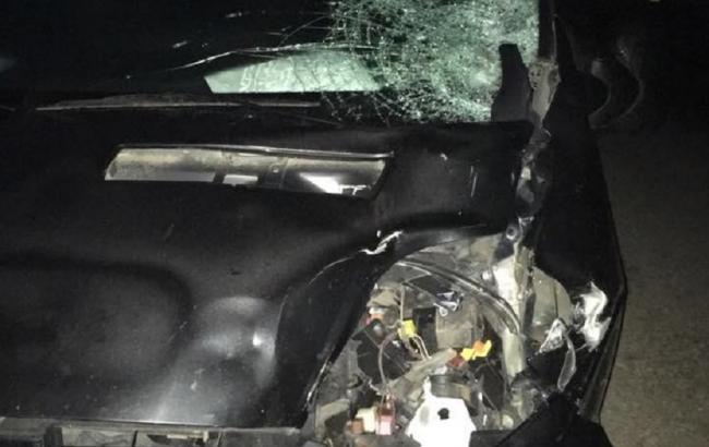 Во Львовской области пьяный полицейский сбил насмерть двух парней на скутере